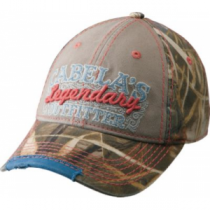 Cabela's Women's Legendary Camouflage Cap - Max 4 'Camouflage' (ONE SIZE FITS MOST)