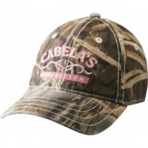 Cabela's Women's Tribal Camouflage Cap - Max 4 'Camouflage' (ONE SIZE FITS MOST)