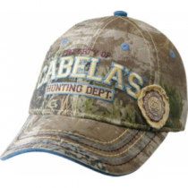 Cabela's Women's Hunting Dept. Camo Cap - Max-1 'Green' (ONE SIZE FITS MOST)