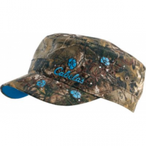 Cabela's Women's Jewel Camo Military Cap - Realtree Xtra 'Camouflage' (ONE SIZE FITS MOST)
