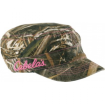 Cabela's Women's Camo Military Cap - Max 5 (ONE SIZE FITS MOST)