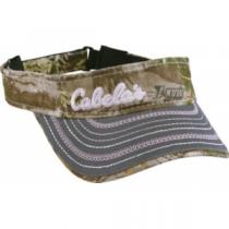 Cabela's Women's Short-Bill Camo Visor - Max-1 'Green' (ONE SIZE FITS MOST)