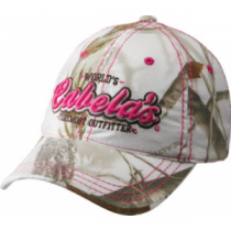 Cabela's Women's Foremost Outfitter Camo Cap - Realtree Ap Snow (ONE SIZE FITS MOST)