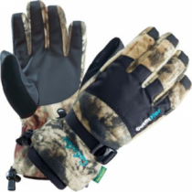 Cabela's Women's OutfitHER Dry-Plus Elite Gloves - Zonz Woodlands 'Camouflage' (MEDIUM)