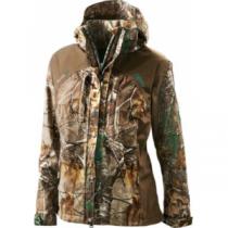Cabela's OutfitHER Dry-Plus Rainwear Jacket - Zonz Woodlands 'Camouflage' (XL)
