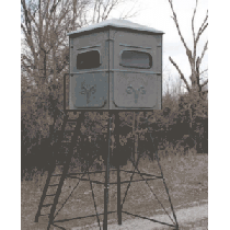 Redneck Blinds The Trophy Tower 5-ft. x 5-ft. Crossover Hunting Blind