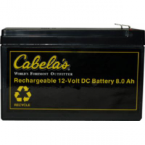 Cabela's 12-Volt Prong-Top Rechargeable Battery