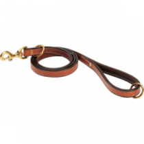 Cabela's Buffalo-Leather 4.5' Leads - Chocolate/Cream