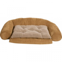Cabela's Orthopedic Comfort Couch Dog Bed - Chocolate 'Dark Brown' (SMALL)