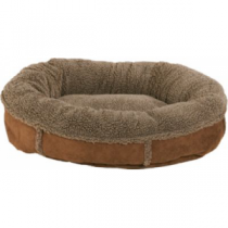 Cabela's Tipped Berber Comfy Cup Dog Beds - Red (SMALL)