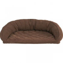 Cabela's Semicircle Memory-Foam Dog Beds - Saddle 'Brown' (SMALL)