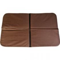 Mud River Four-Way Folding Dog Bed - Brown