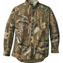 ScentBlocker Men's Recon Lite Shirt with Trinity Technology - Mo Break-Up Infinity (XL)