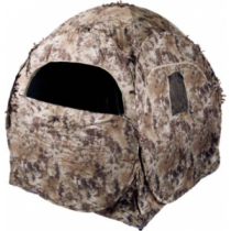 Ameristep Doghouse Ground Blind Kryptek Highlander - Clear