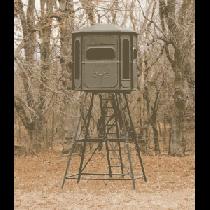 Redneck The Predator 360 5x6 Crossover Blind - Clear