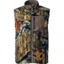 Cabela's Men's Your Choice Fleece 100-wt. Vest - Zonz Woodlands 'Camouflage' (XL)