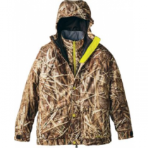 Cabela's Youth Silent-Suede Dry-Plus 4-in-1 Parka - Backwaters (MEDIUM)
