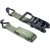 Cabela's 2 x 8' Ratchet Strap with Removable Lockable Handle - Green