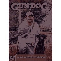 Gun Dog Game Recovery Training DVD