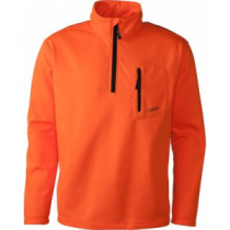 Cabela's Men's Blaze Lewiston 1/4-Zip Jacket 'Orange' (2XL)