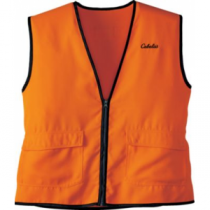 Cabela's Men's Blaze Full-Feature Vest 'Orange' (XL)