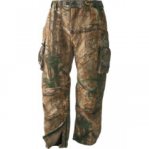 ScentBlocker Men's Alpha Pants with WindBrake - Mo Break-Up Infinity (XL)