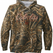 Cabela's Men's Opening Day Camo Hoodie - Mo Shdw Grass Blades 'Camouflage' (XL)