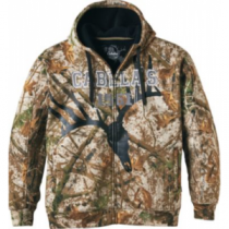 Cabela's Men's Campfire Camo Berber Lined Hoodie - Zonz Woodlands 'Camouflage' (3XL)