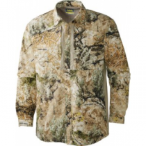 Cabela's Men's Made in the Shade Seven-Button Shirt with 4MOST UPF - Zonz Western 'Camouflage' (MEDIUM)