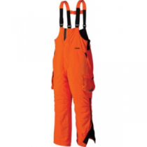 Cabela's Men's Blaze Silent-Suede Bibs with Thinsulate and 4MOST DRY-Plus 'Orange' (Large)