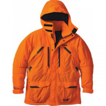 Cabela's Men's Blaze Silent-Suede Parka with Thinsulate and 4MOST DRY-Plus 'Orange' (3XL)