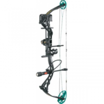 Cabela's Instigator Black/Teal Compound-Bow Package Powered by Bowtech