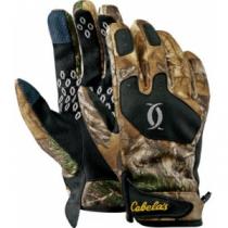 Cabela's Instinct Men's Reliant Whitetail Liner Glove - Zonz Woodlands 'Camouflage' (LARGE)