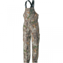 Cabela's Men's Insulated ScentLok Bibs - Zonz Woodlands 'Camouflage' (LARGE)