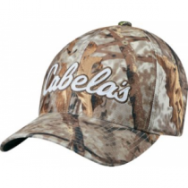 a1bffa4516f Cabela s Men s Flexfit 10-04 Logo Cap - Zonz Woodlands  Camouflage  (ONE
