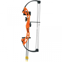 BEAR ARCHERY Brave Flo Orange Compound-Bow Package