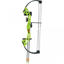 BEAR ARCHERY Brave Flo Green Compound-Bow Package