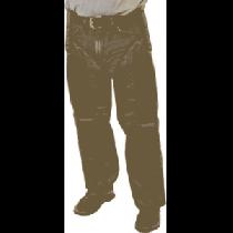 ForEverlast Men's Pro Full-Leg Guard Chaps - Brown (LONG)