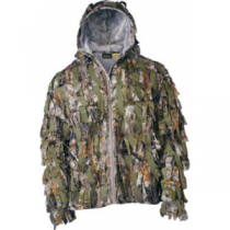 Cabela's Instinct Maximum Concealment System Ghillie Jacket - Zonz Woodlands 'Camouflage' (2XL)