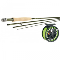 Cabela's CZN WLx II Fly Rod and Reel Combo - Olive