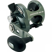 Okuma Andros SE Casting Reel - Stainless, Saltwater Fishing