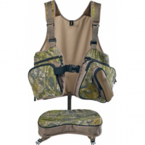 Cabela's Beard Buster Men's Turkey Vest - Mossy Oak Obsession 'Camouflage' (ONE SIZE FITS MOST)
