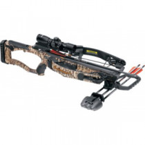 BARNETT Buck Commander Raptor Reverse Crossbow Package - Camo