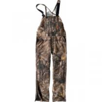 Carhartt Quilt-Lined Bib Overalls Tall - Realtree Xtra 'Camouflage' (MEDIUM)