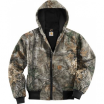 Carhartt Men's Thermal Lined Active Jacket Regular - Realtree Xtra 'Camouflage' (LARGE)