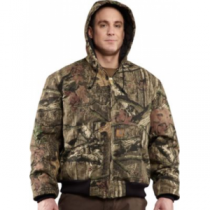 Carhartt Men's Quilted-Flannel-Lined Camo Active Jacket Tall - Mo Break-Up Infinity (LARGE)