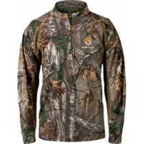 Scent-Lok ScentLok Men's BaseSlayer Attack 1/4-Zip Shirt - Mossy Oak Country (MEDIUM)