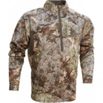 King's Camo Men's Hunter Fleece 1/4-Zip Pullover - Desert Shadow (2XL)