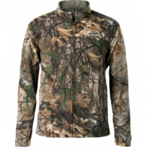 Scent-Lok ScentLok Men's Vortex Windproof Fleece Jacket - Realtree Xtra 'Camouflage' (LARGE)