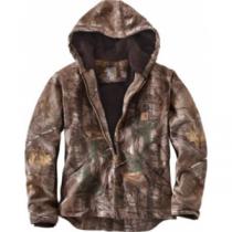 Carhartt Men's Camo Sierra Jacket Tall - Realtree Xtra 'Camouflage' (LARGE)